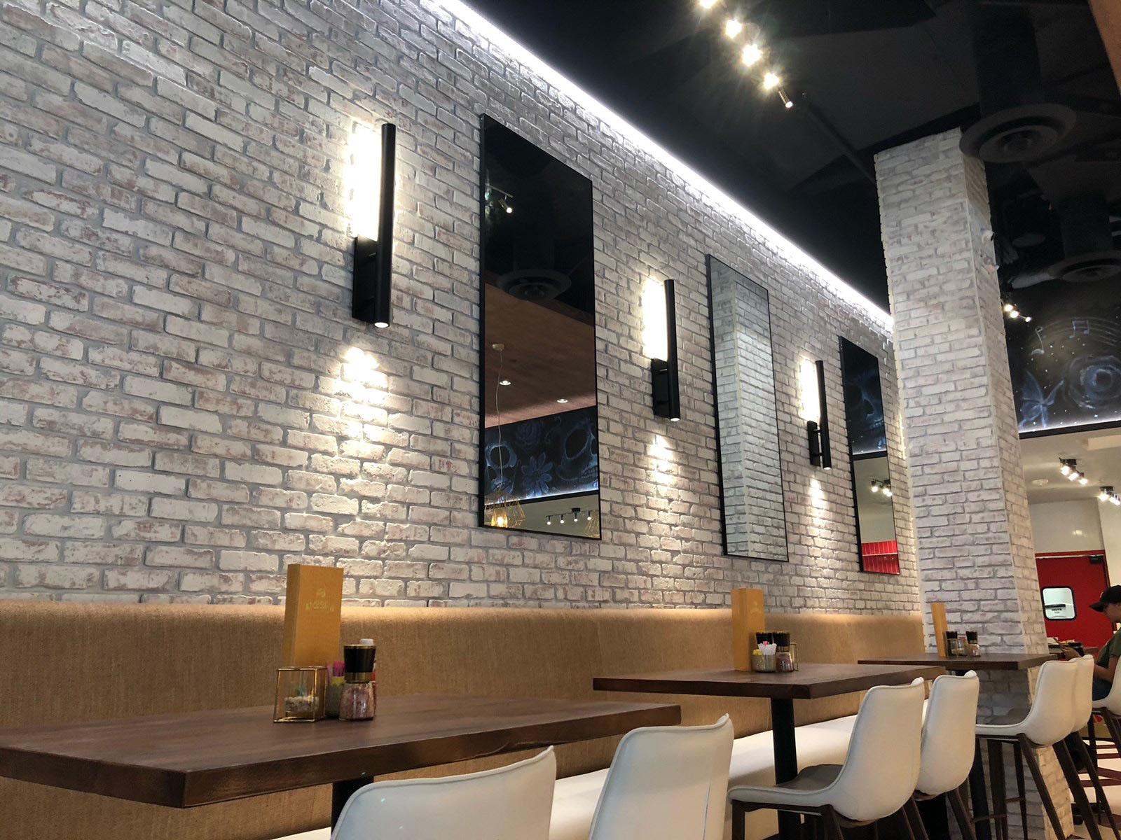Restaurant Novel Lighting Project